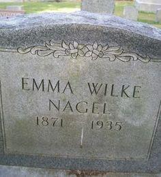 NAGEL, EMMA - Des Moines County, Iowa | EMMA NAGEL