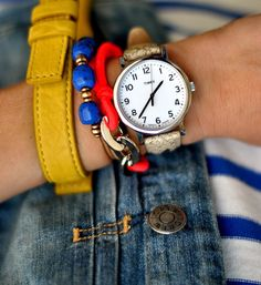 #watch #timex #bright by my style pill, via Flickr