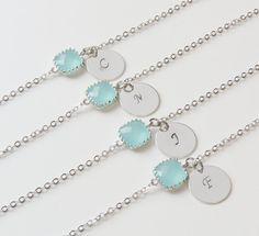 Personalized Bracelets  Birthstone & by SweetheartJewelryBox