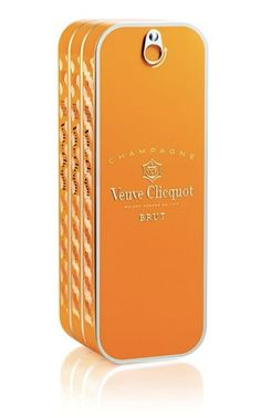 Veuve Clicquot pays tribute to its past with unique, sardine can-inspired packaging for its Brut Yellow Label.