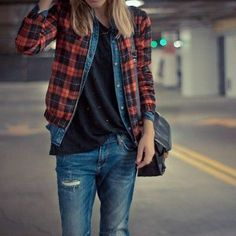 femme tomboy fashion - Google Search