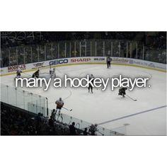 hockey players are SO hot.