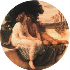 Acme and Septimus, undated - by Frederic Lord Leighton