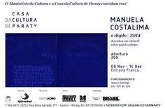 """Abertura da exposição """"O Duplo"""" de Manuela Costa Lima na Casa da Cultura de Paraty. Não percam!!!  #CasaDaCulturaParaty #ManuelaCostaLima #ODuplo #exposição #arte #fotografia #cultura #turismo #Paraty #PousadaDoCareca"""