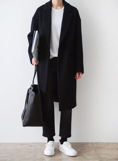 Monochrome menswear