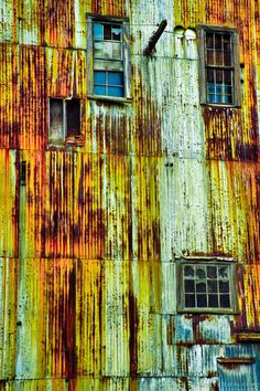 Rusty Metal Building, Everett, Washington, 2011   Click the picture above for…