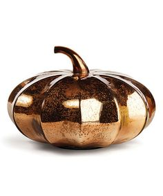 Look at this #zulilyfind! Shiny Copper Thanksgiving Pumpkin Décor by Napa Home and Garden, $35 !!  #zulilyfinds