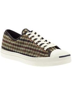 ae1f16412b96 Converse Jack Purcell LTT in Olive Navy Check Converse Jack Purcell