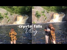 come to crystal falls with us! join us on an interesting trip to crystal falls! Making Youtube Videos, Swimming Holes, Summer Bucket Lists, Next Video, The Fam, Waterfall, Crystals, Movie Posters, Instagram