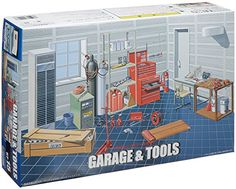 Diorama Kits - 124 Garage  Tool Set ** Details can be found by clicking on the image.