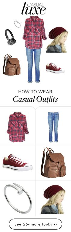"""""""Casual Luxe #131"""" by annabel-janee on Polyvore featuring mode, rag & bone, Converse, H&M, Master & Dynamic, Sole Society en Cartier"""