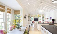 Breakfast, kitchen & family room.