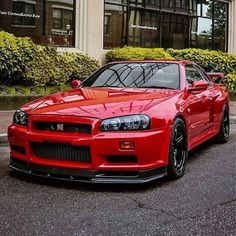 nissan gtr Rouge Tag @ to get potentially featured Skyline Gtr R34, Nissan Skyline Gt R, Nissan Gtr R34, Jdm, Cool Sports Cars, Sport Cars, Dream Cars, Street Racing Cars, Japan Cars