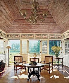 Exotic Balinese Decor, Indonesian Art and Bali Furniture for Tropical Decorating Decor, Dining Rooms, Bali Bliss, Exotic Dining, Interiors, British Colonial, Oriental Rooms, Made Wijaya, Colonial Style