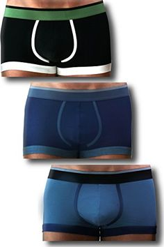 Adrian Bartol Mens Combo 3 PACK Cotton Boxer Brief Medium Black Blue and  Gray    Want to know more, click on the image.Note It is affiliate link to  Amazon. af886893527
