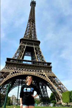 Sister Kailli Spence from Alpha Gamma in Paris