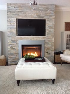 Fireplace stone - this is very similar to the ledger stone i have
