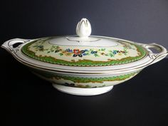 Rare J & G Meakin Sol Kenmore Covered Casserole by LaCheriMaison, $75.00