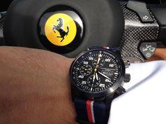 Ferrari Racing. Watch from Maurice de Mauriac