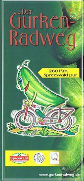 Karte : Google-Maps : Interaktive Karte des Gurkenradweges :: www.gurkenradweg.de  Spreewald 260 km