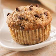 Easy Desserts, Delicious Desserts, Dessert Recipes, Yummy Food, Tasty, Banana Chocolate Chip Muffins, Chocolate Chip Recipes, Chocolate Chips, Muffin Recipes