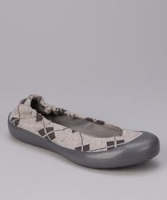 Take a look at this SWYT Culture Battleship Argyle Ballet Flat on zulily today!