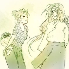 Neji and Tenten... they would have been the perfect couple for real.