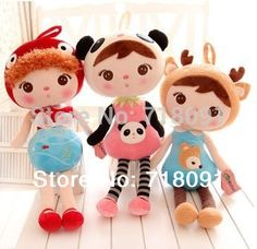 """Brand Metoo Soft Plush Toys  Dolls for Baby Gifts,10 Styles,9"""" and 18"""" and 24"""" and 32"""",1PC"""