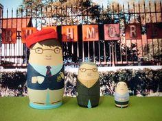 Rushmore Matryoshka Dolls by bobobabushka on Etsy