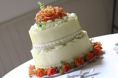 Delicious wedding cake by sDaniel et Daniel