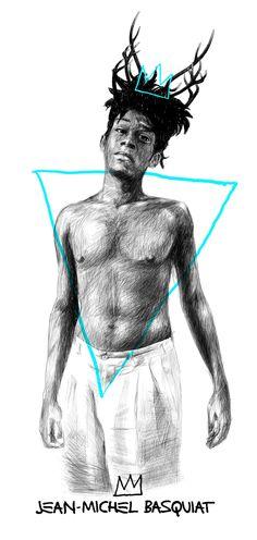 Sergio Saucedo - Jean-Michel Basquiat