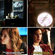 """""""I think I saw it in a comic book somewhere"""" - Caitlin and Cisco #TheFlash"""