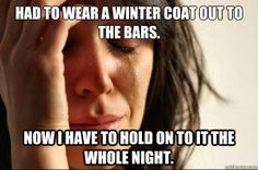 canadian first world problems