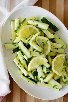 garlic butter sauteed zucchini
