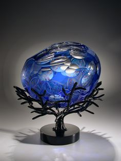 DAVID SCHWARZ | Glass Artist David Schwarz at - Schantz Galleries