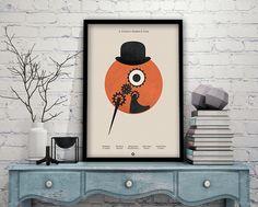 A Clockwork Orange Inspired Print #aclockworkorange #stanleykubrick #bookposter #books #alternativemovieposter #clockwork #malcolmmcdowell #gift #moviequote #quote #film #movie #movienight #filmquote #iconicquote #imdb #imdbquote #filmgeek #moviefan #cinema #cinephile #movielover #popculture #filmbuff #greatfilm #poster #filmposter #movieposter #personalisedposter #personalized #amp #alternativemovieposter #gift #filmgeek #geekgift #movielover #present #filmgift #print #movieprint