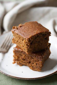 Pumpkin Spice Gingerbread Cake