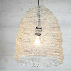 Industrial modern wire lampshade tripod lamp diy alt knowledge cream wire lampshade greentooth Choice Image