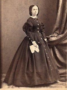 2 Civil War Era CDV Lot by J Gurney Son ID'D Clergyman Beautiful Young Lady | eBay