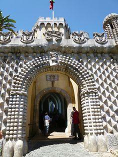 """Palacio Nacional da Pena"" Sintra Portugal (Luglio)"