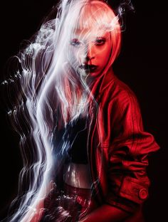 Sølve Sundsbø — In The Dreamy Red Mood — Vogue Italia