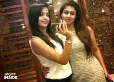 Trisha Krishnan With Nayanthara