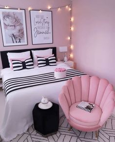 Home Decoration Interior .Home Decoration Interior Bedroom Decor For Teen Girls, Teen Girl Rooms, Girl Bedroom Designs, Room Ideas Bedroom, Small Room Bedroom, Home Decor Bedroom, Bedroom Decor Ideas For Teen Girls, Room Ideas For Teens, Purple Bedroom Decor