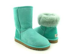Light Blue Mint Green Ugg Boots