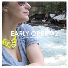 Necklace EO #2 Yellow 56 cm - MATTER Design