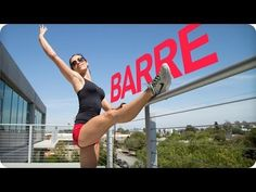 Lower Body BARRE WORKOUT for SCULPTED LEGS | Autumn Fitness - YouTube