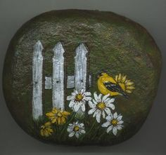 Pretty Painted Rock