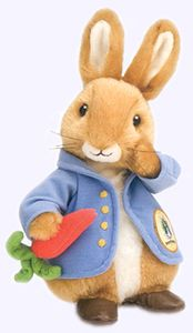 More Beatrix Potter Peter Rabbit accessories (books, stuffed animals, dinner set, baby book...)