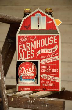Oast House Brewers 2 Pack on Packaging of the World - Creative Package Design Gallery