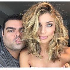 Steal Her Beauty Look: Grazi Massafera Pelo Midi, New Hair 2018, Medium Hair Styles, Short Hair Styles, Let Your Hair Down, Long Bob Hairstyles, How To Make Hair, Hair Dos, Ombre Hair